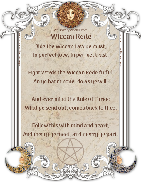 Wiccan Rede ۞ Whispering Worlds